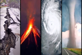 Climate Change: bringing in the New Year with natural disasters