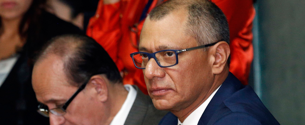 Jorge Glas and the future of the Ecuatorian Vicepresidency