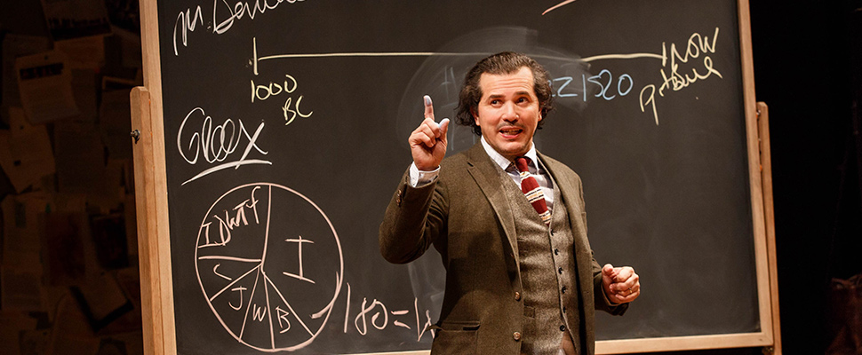 """Latin history for morons"": the comedy's starry Broadway return"